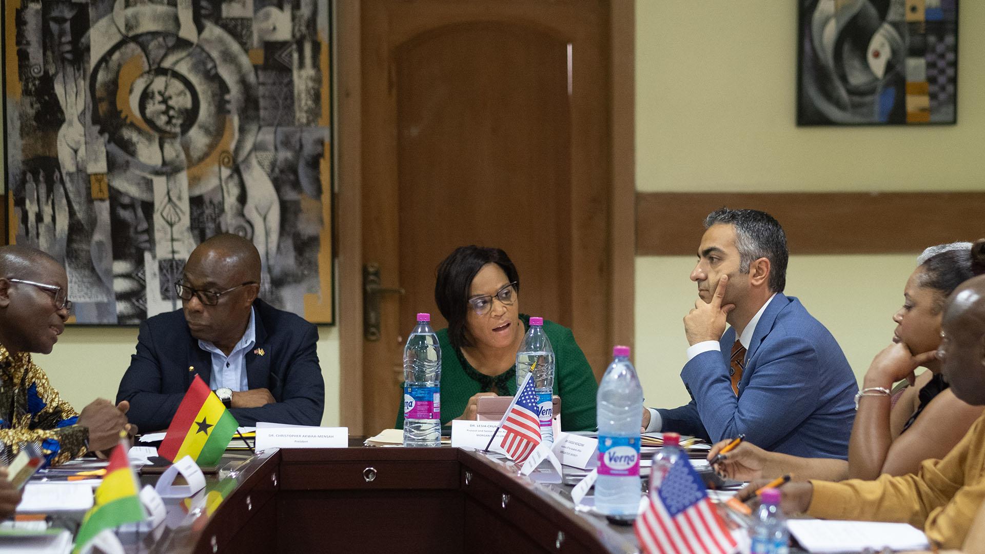 morgan state university meeting in ghana
